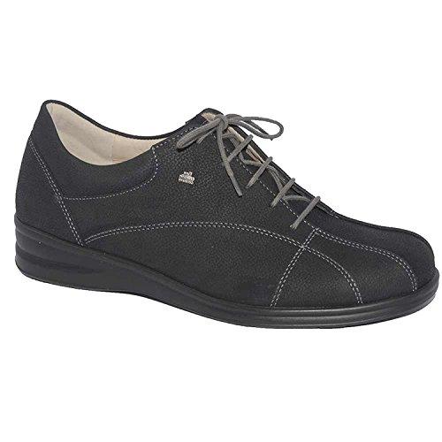 Finn Komfort Ariano Kvinna Mode Sneakers Svart Longbeach