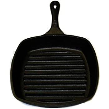 Amazon Com Emeril Cast Iron 10 Inch Square Grill Pan