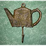 Cast Iron Princess Teapot Coat Hook
