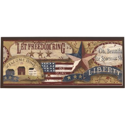 UPC 085663250986, Americana Wall Plaque