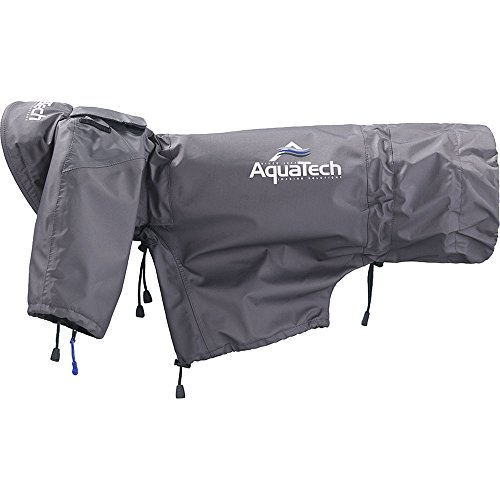 AquaTech SSRC Extra Large Sport Shield Rain Cover (Gray) by AquaTech