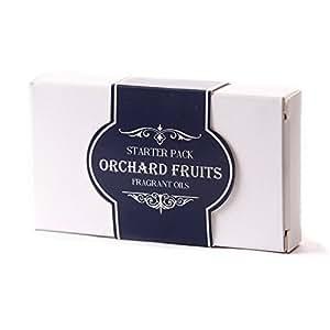 Mystic Moments Aceite Perfumado Pack Básico - Frutas De Huerto - 5 x 10ml - 100% Puro