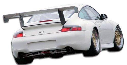 Duraflex Replacement for 1999-2001 Porsche 911 Carrera 996 C2 C4 GT3-R Look Wide Body Rear Bumper Cover - 1 Piece ()