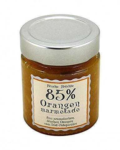 Orangen Marmelade 85% frische Früchte 40g: Amazon.de: Lebensmittel ...