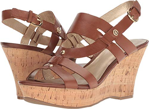 Guess Leather Platforms - GUESS Women's Studs Brown Leather 9 M US