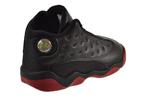 Jordan 13 Retro ''Dirty Bred'' BT Baby Toddler Shoes Black/Gym Red-Black 414581-003 (7 M US) by Jordan (Image #3)