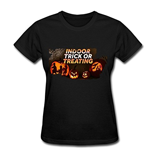 Floyd Mayweather Halloween (PASSIONC Women's Halloween Pumpkin Trick Or Treat T-shirt)