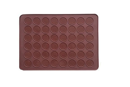48-Capacity Macaron Silicone Baking Mat Mould Mold ondant Oven Baking Mat DIY Sheet Cake Molds by Nova-store