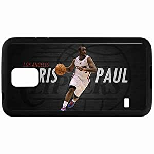 Personalized Samsung S5 Cell phone Case/Cover Skin 14673 chris paul 4 sm Black