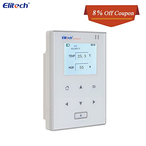 Temperature and Humidity Data Logger Wifi Temp Monitor Recorder Wireless Refrigerator Thermometer Elitech RCW800 WIFI by Elitech