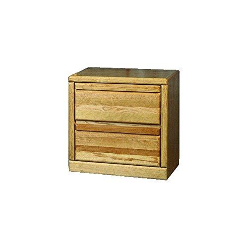 Alder Bedroom Bed - Forest Designs Bullnose Oak Two Drawer Nightstand: 25W x 30H x 18D (No Bed) 25w x 30h x 18d Coffee Alder