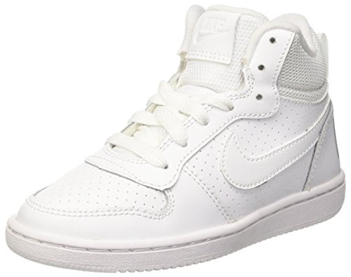 Good feeling Egomania sphere  NIKE Boys' Court Borough Mid Print (GS) - Buy Online in Zambia at Desertcart