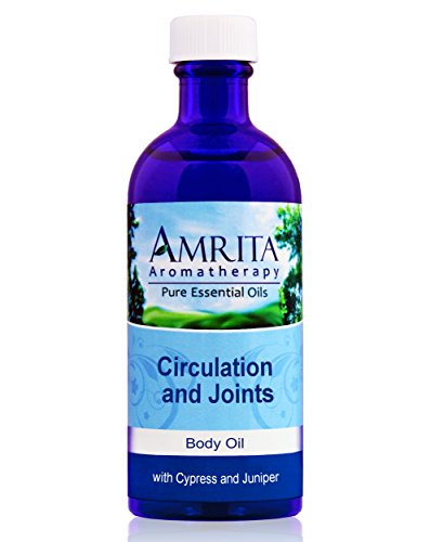 Amrita-Aromatherapy-Circulation-and-Joints-Massage-Body-Oil-with-Essential-Oils-of-Cypress-and-Juniper-100-Milliliters