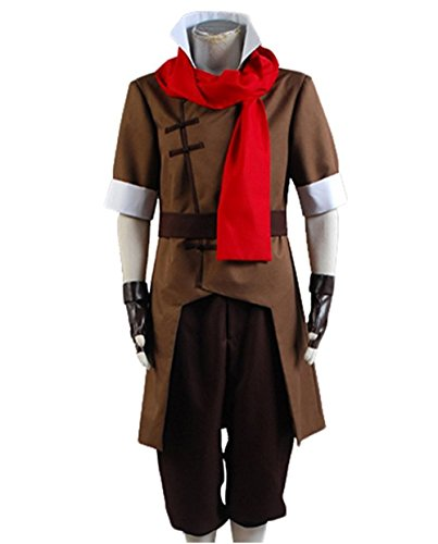 Custom Made Avatar Costumes (TISEA Avatar Korra Halloween Cosplay Costume Brown Version (Custom Made, Male))