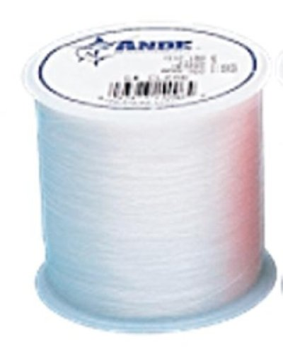 ANDE A14-100C Premium Monofilament, 1/4-Pound Spool, 100-Pound Test, Clear Finish