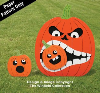 Hungry Pumpkin #2 Pattern -