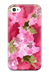 New For Apple Iphone 5C Case Cover Casing(nice Pink Watercolor )