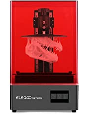 ELEGOO Saturn MSLA 3D Printer UV Photocuring LCD 3D Printer with 4K Monochrome LCD, Matrix UV LED Light Source, Off-Line, and LAN Print, Printing Size 192*120*200mm/7.55in*4.72in*7.87in