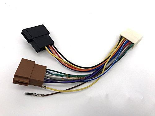autostereo coche Audio Cable ISO para installtion 15–102Arnés estándar iso para Clarion ax- db- dxz- mrx- px-series Autostereo TECH