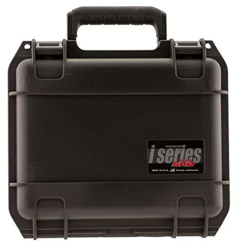 Skb Pistol Case - SKB Injection Molded Layered Foam Equipment Case (Black, 9- Inch x 7- Inch x 4- Inch)