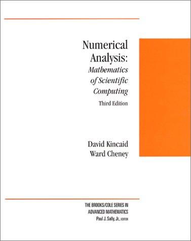 Numerical Analysis: Mathematics of Scientific Computing