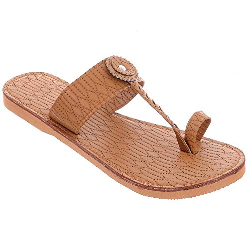 Buy AR Cotton Flawers Leather Slippers