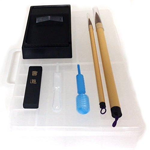 M-RO Japanese Calligraphy Brush / Kanji /Sumi Set for Beginners by M-RO