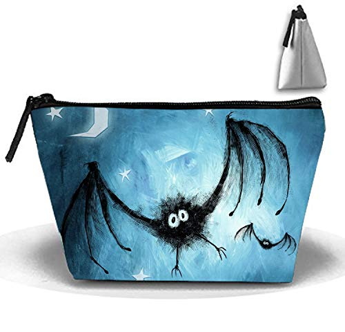 Cool Halloween Portable Make-Up Zipper Pouch Carry Sewing Kit Medicine Bag ()