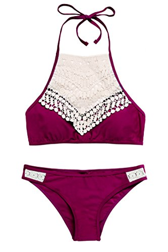 Avidlove Womens Crochet Swimsuit Two Pieces Bathing Suits Sexy Bikini Set S-XXL by Avidlove (Image #1)