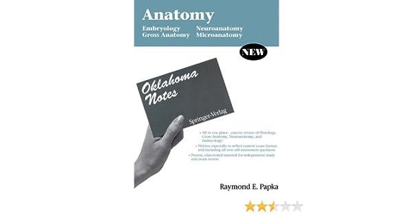 Anatomy: Embryology - Gross Anatomy - Neuroanatomy - Microanatomy ...