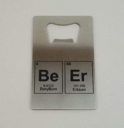 BeEr Elements Bottle Opener. Credit Card Size For Sale