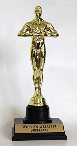 オスカー像 レプリカ トロフィー (オマージュ) Lサイズ 27cm B01ESMYJJ8