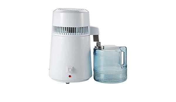 Asixx Purificador de Agua, 4L Destilación Filtro, de Acero ...