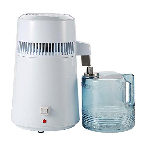 Filtro de Purificador de Máquina Destilador de Agua Pura de Encimera Acero Inoxidable Casero 4L (Enchufe EEUU)(Us Plug)