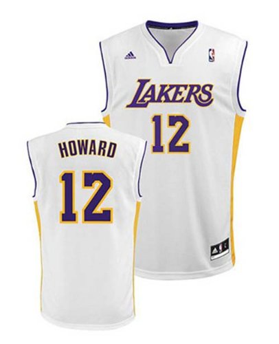 - adidas Dwight Howard Los Angeles Lakers #12 Youth Revolution 30 Replica NBA Basketball Jersey (Alternate White)