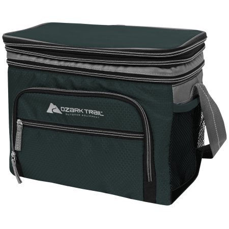 le Top 12-Can Cooler with Mesh Side Pocket and Removable Hard Liner (Green) ()