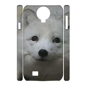 DIY Case for SamSung Galaxy S4 I9500 3D - The Arctic Fox ( WKK-R-530426 )
