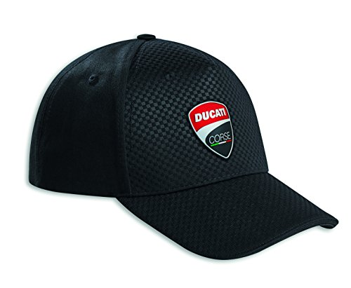 Ducati Corse Total Black Hat 987695229 Carbon