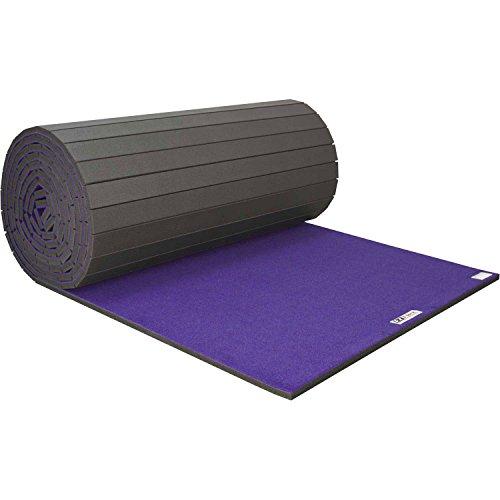 Cheerleading/Gymnastics Roll Mats, 42′ x 6′ x 2″, Purple