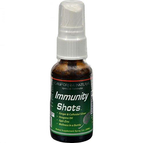 California Natural - Immunity Shots Spray - 1 oz. Formerly Wellness Shots by California ()