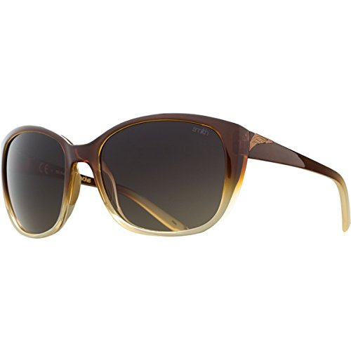 Smith Optics Lookout Sunglasses, Root Beer Fade Frame, Brown Gradient Carbonic TLT - Glasses Womens Roots
