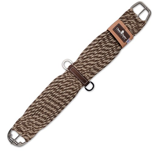 CLASSIC Equine 100% Mohair and Alpaca Straight Cinch ♦ Roller Buckle Soft ♦ Made in USA (34 Inch)