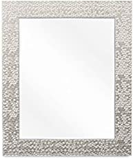 f9c3a97a5fe5 Wall Beveled Mirror Framed - Bedroom or Bathroom Rectangular Frame Hangs …