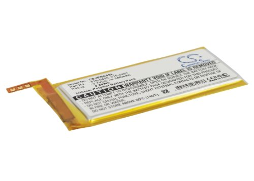 VINTRONS Battery fit to iPod 616-0405, 616-0407, P11G73-01-S01, 16G MB903LL/A, iPod Nano 4th 8GB