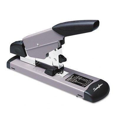 Heavy-Duty Stapler, 160-Sheet Capacity, Black/Gray