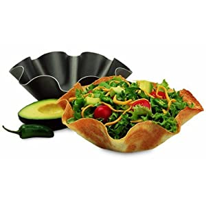 Perfect Tortilla Baking Non-stick Not Fried Mold Pan .