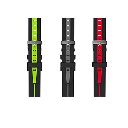 Smart blodtrycksarmband hjärtfrekvens upptäckt sport bluetooth klocka företag (färg: Grön)