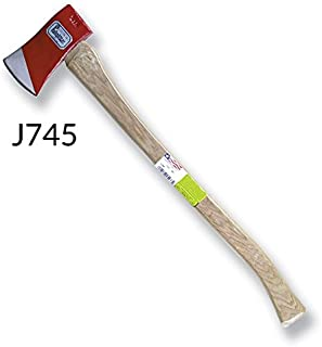 product image for Leatherhead Tools FAH-6R 6# Flat Axe Red Head with Hickory Handle w/Reflective Tape