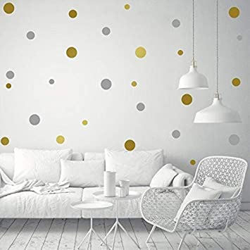 Buy World Beauty S Diy Removable Polka Dot Vinyl Wall Stickers Baby Nursery Bedroom Murals Wallpaper Decal For Kids Children Home Background Decor Online At Low Prices In India Amazon In