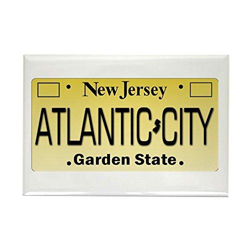CafePress Atlantic City NJ Tag Giftware Magnets Rectangle Magnet, 2